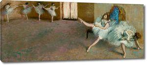 Дега - Перед балетом