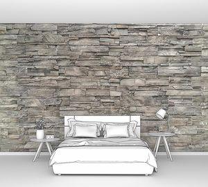 Каменная стена и фон