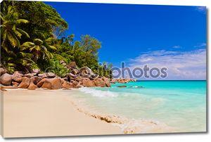 Жоржетта пляж на острове Праслин - Сейшельские острова