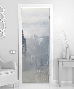 Сильный туман в Лондоне