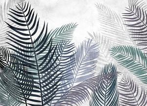 Пальмовые остроконечные листья