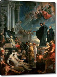 Рубенс. Чудеса святого Франциска Ксавьера