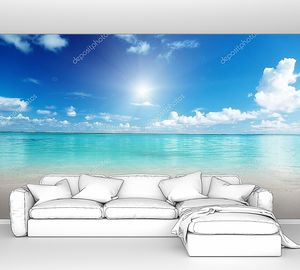 Песок Карибского моря