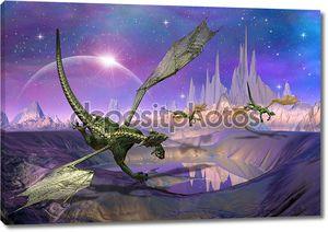 Драконы - фантастический мир 01