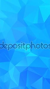 Оттенки голубого абстрактного полигональных геометрического фона--низкой поли.