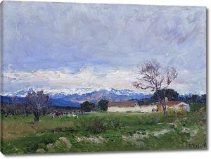 Беруэте и Морет Аурелиано де. Пейзаж в Пардо