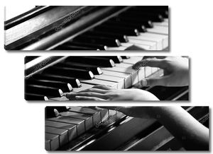 Маленькая девочка руки фортепиано игра