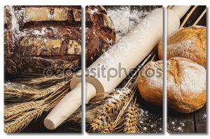 Натюрморт с хлебом.