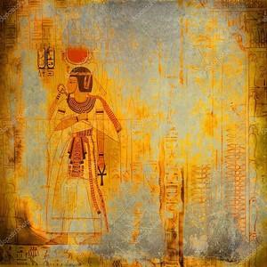 Винтаж Египет гранж-фон