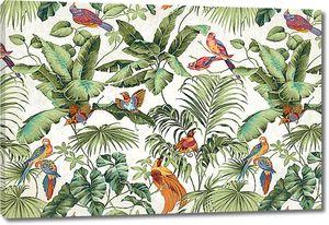 Райские птицы в папоротнике