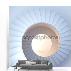 Spiral stair