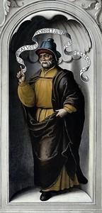 Хуан Корреа де Вивар. Пророк Исаия