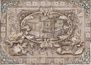 Венеция в рамке из цветов