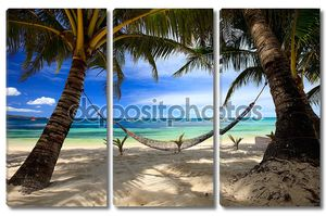 Прекрасный тропический пляж