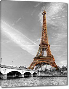 Эйфелева башня на рассвете, Париж
