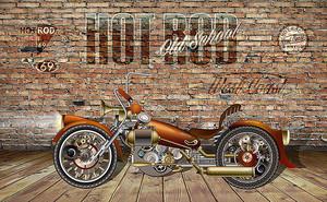 Мотоцикл Хот род