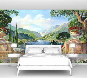 Прекрасная терраса с видом на реку