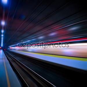 Поезд движение blur