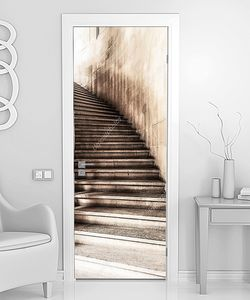 Рисованная лестница