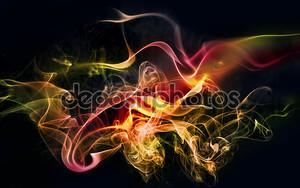 Красочные дыма