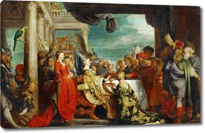 Рубенс. Король лангобардов Альбоин и Розамунда