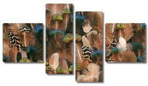 Разномастные перья