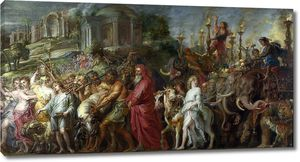 Рубенс. Триумф Рима