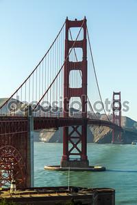 Мост Золотые ворота в солнечную погоду