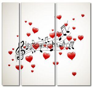 векторные музыкальные примечания