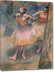 Дега - Две балерины