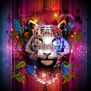 Тигр декоративные
