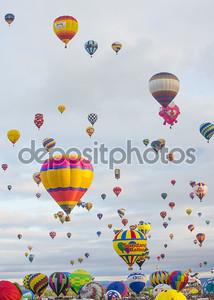 фиеста воздушного шара Альбукерке