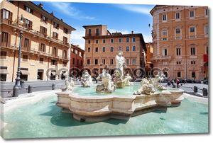 Пьяцца Навона, Рим. италия