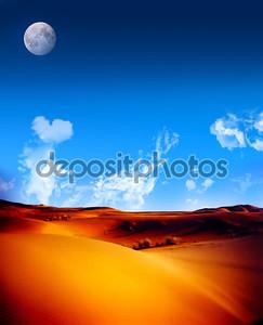 Идеальный пейзаж пустыни