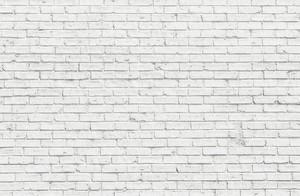 Стена из белого кирпича
