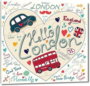 Набор символов, Лондон