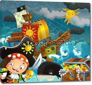 Пиратская иллюстрация