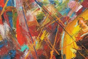 текстуры живопись красками