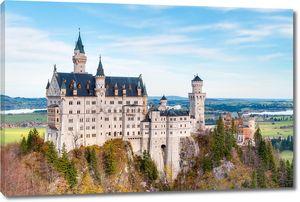 Замок Нойшванштайн у Мюнхена