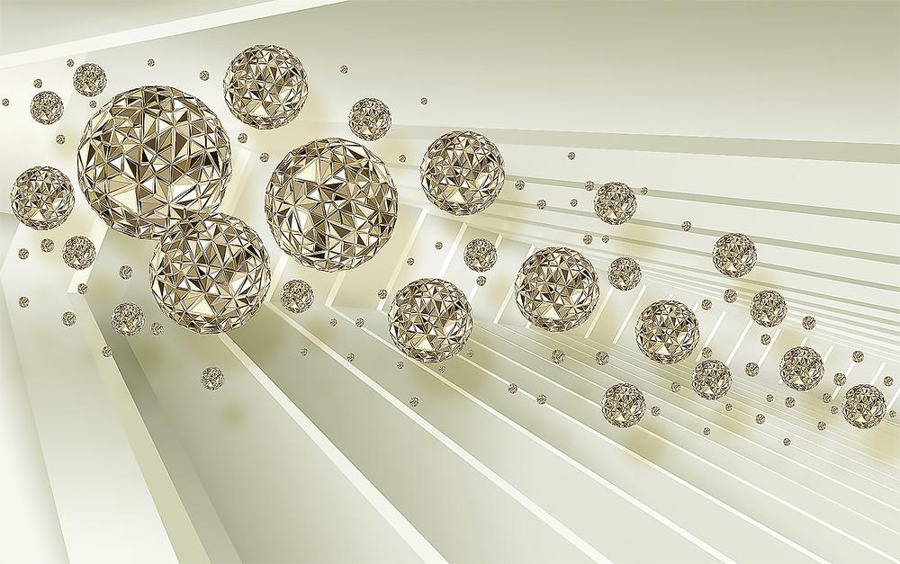 Фотообои «Летящие драгоценные камни», купить в интернет-магазине «Первое Ателье»™