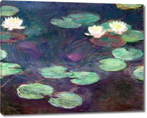 Моне Клод. Кувшинки, Розовый, 1897-99