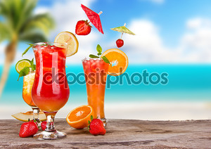 экзотические коктейли