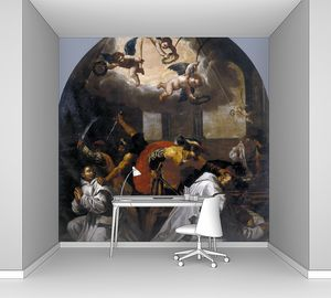 Кардучо Висенте. Мученичество четырех монахов в монастыре Рурмонда