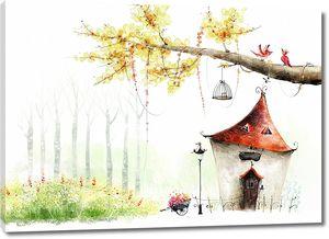 Дом в сказочном мире