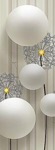 Перламутровые шары с одуванчиками