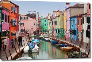 Италия, Венеция: Остров Бурано