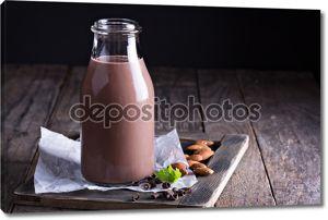Домашнее миндаль молочный шоколад