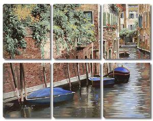 Лодки в каналах