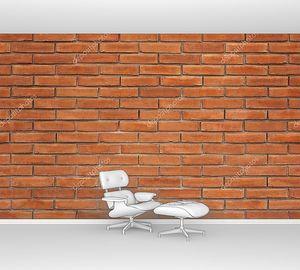 Кирпичная стена классическая