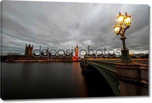Биг Бен и здание парламента в Лондоне